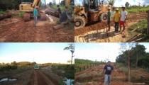 Vereador Mirão acompanha de perto os trabalhos realizados na área rural do município