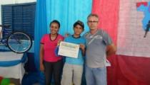 Escola Municipal Raquel de Queiroz, entrega premiação para alunos finalistas do Projeto de Soletração