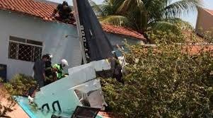 Três pessoas morrem em queda de avião que decolou de Tangará da Serra