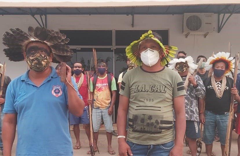 Rikbaktsas se revoltam após indígena ser baleado em propriedade rural de Juína