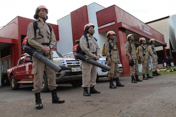 Bombeiros estruturam equipes para atuar contra queimadas ilegais em municípios de MT
