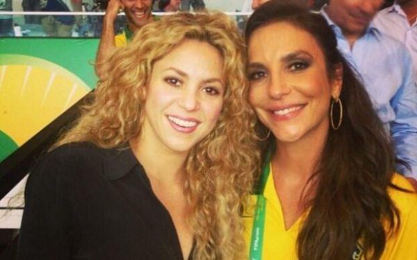 Cerimônia de encerramento da Copa terá Ivete Sangalo e Shakira