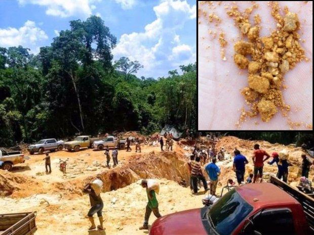 Novo garimpo é descoberto em Mato Grosso e já atrai milhares de garimpeiros
