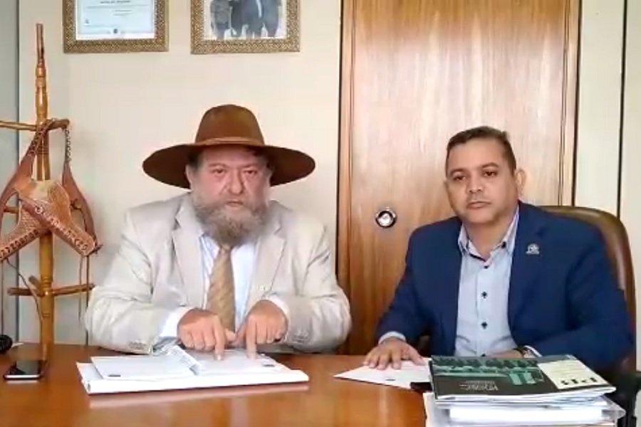 Prefeito Jonas Canarinho busca apoio de deputado Federal sobre garimpo em Aripuanã