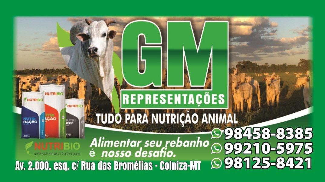 Em Colniza tem a GM REPRESENTAÇÕES NUTRIÇÃO ANIMAL