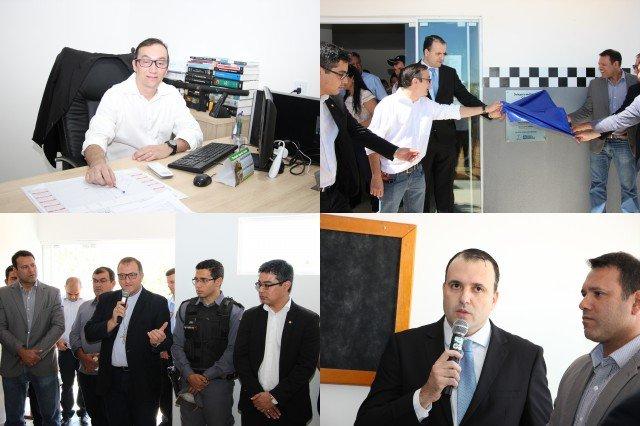 Inaugurada a nova Delegacia da polícia civil de Colniza