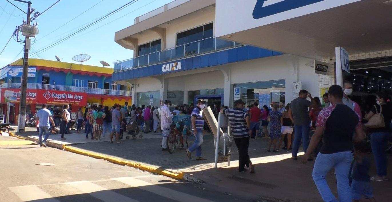 Juína recebeu mais de R$ 7,5 milhões somente de auxílio emergencial em Abril e Maio