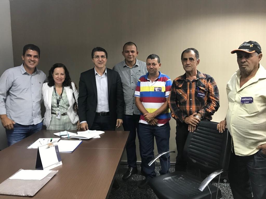 Vereador Marquinhos de Colniza participa de diversas reuniões na capital Cuiabá