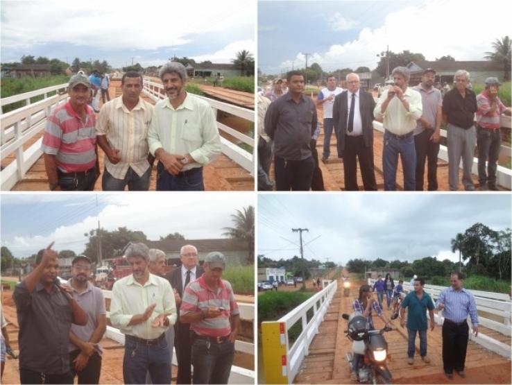 Prefeitura constrói nova ponte em Avenida de Colniza