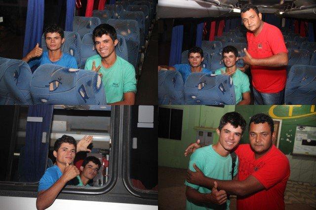 Jovens que construíram avião em Colniza, ganham curso de piloto em São Paulo