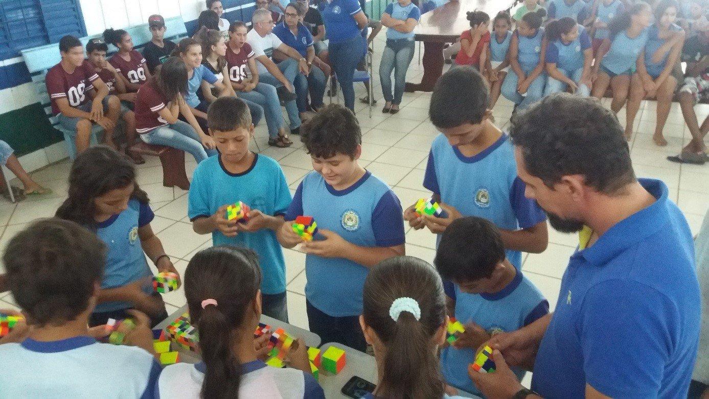 Sindicato das Industrias Madeireiras e Moveleiras do Noroeste de Mato Grosso (SIMNO), apoia projeto de Cubo Mágico em Colniza-MT