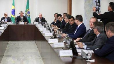 Em reunião com Bolsonaro, Mauro defende produção em terras indígenas
