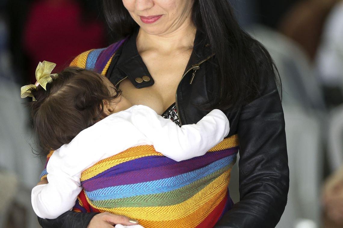Ministério da Saúde lança Campanha de Aleitamento Materno