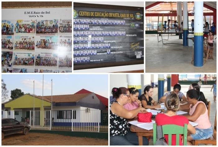 Secretária de educação informa que as aulas do município voltaram nesta segunda 07/08/17 no interior e perímetro urbano
