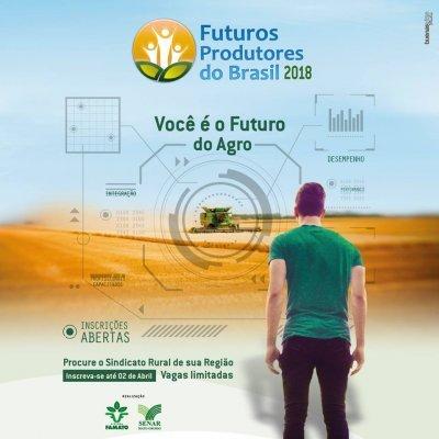 Sistema Famato abre inscrições para o projeto Futuros Produtores do Brasil
