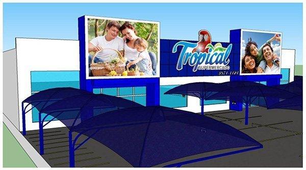 Tropical Supermercado em Colniza-MT