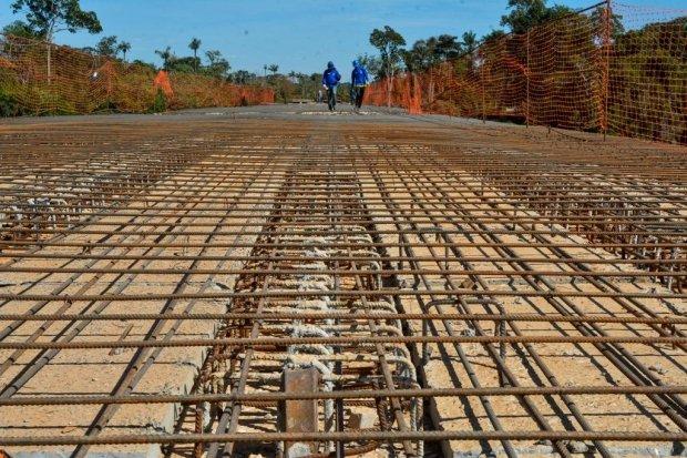 Ponte de concreto sobre o Rio das Mortes será a maior de Mato Grosso