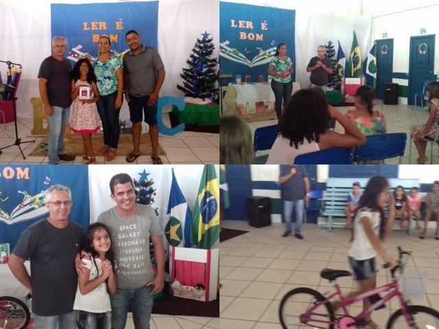 """Projeto de leitura """"LER É BOM"""" foi realizado em Colniza-MT"""