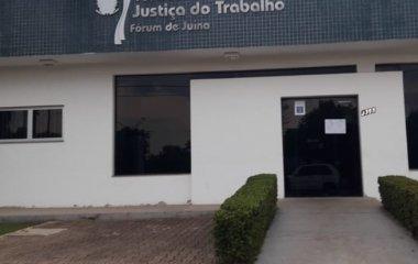 Audiência Pública em Juína debaterá a destinação de verbas pela Justiça do Trabalho