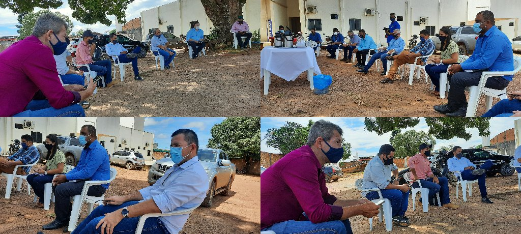 Vereadores se reúnem com o Executivo Municipal, e cobram medidas em relação ao surto de COVID em Colniza