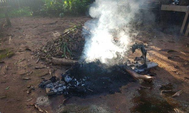 Mulher comete suicídio ateando fogo em seu próprio corpo