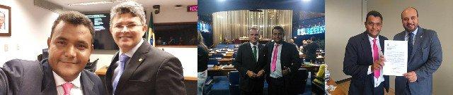 Vereador Oseia cobra em Brasília a destinação de emendas para Colniza