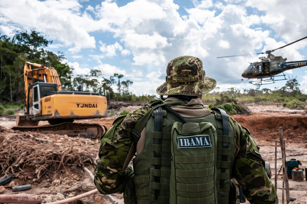 Operação desativa garimpos ilegais de minérios em terras indígenas