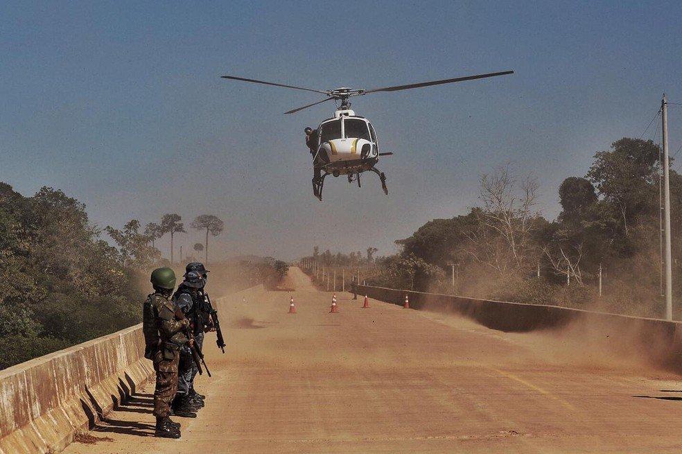 Mais de 60 soldados do Exército chegam em MT para reforçar o combate ao desmatamento ilegal