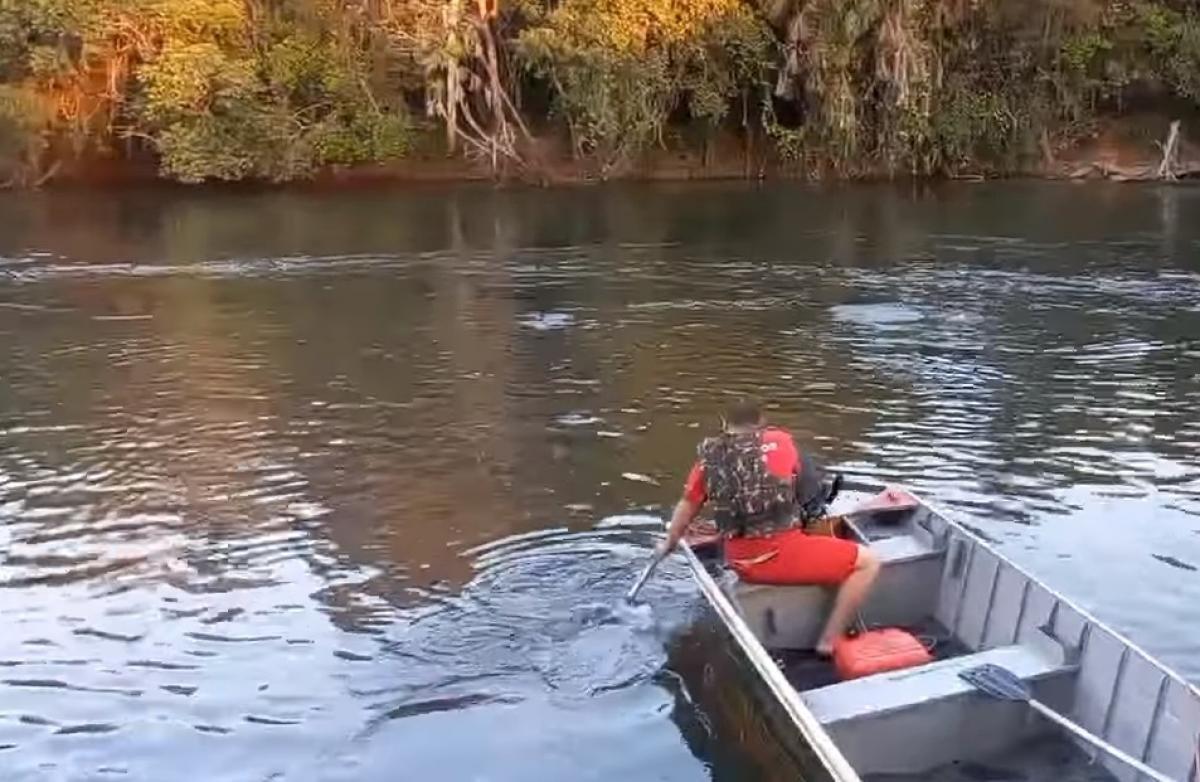 Bombeiros localizam corpo de menino de 11 anos que se afogou no Rio Itiquira