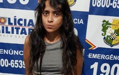 CR-8: Mulher é presa com droga, arma de fogo e munições em Cotriguaçu