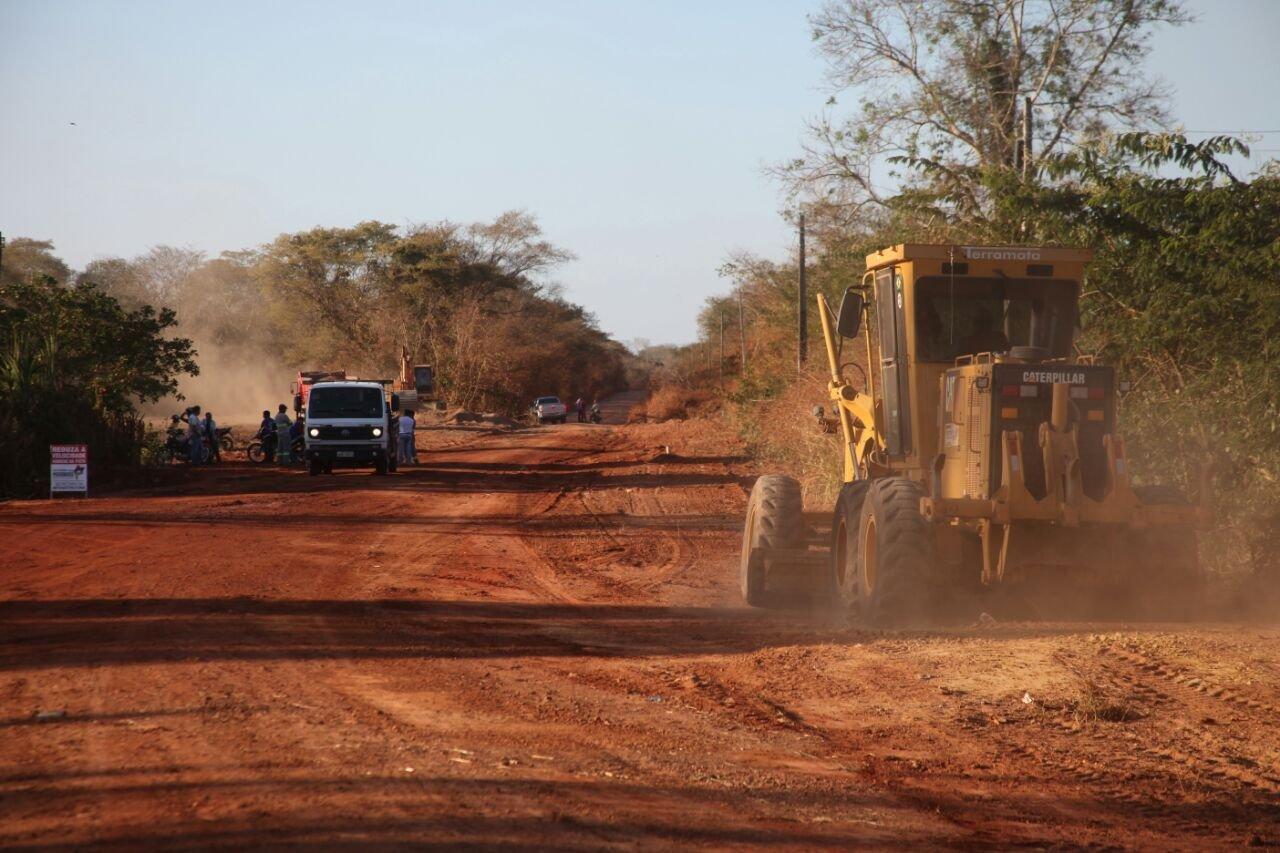 MPF faz alerta sobre obra de asfalto em região indígena entre Castanheira e Colniza-MT
