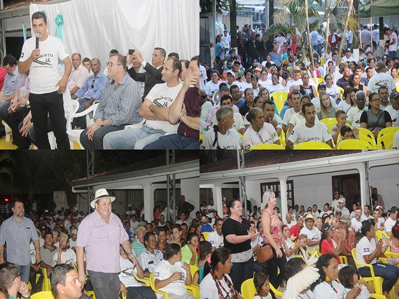 População lota audiência pública em Colniza
