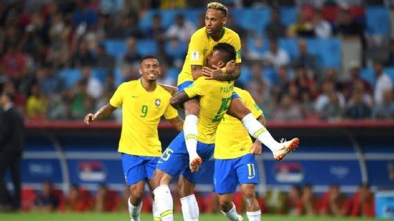 Brasil joga bem, vence a Sérvia com autoridade e enfrenta o México nas oitavas da Copa do Mundo