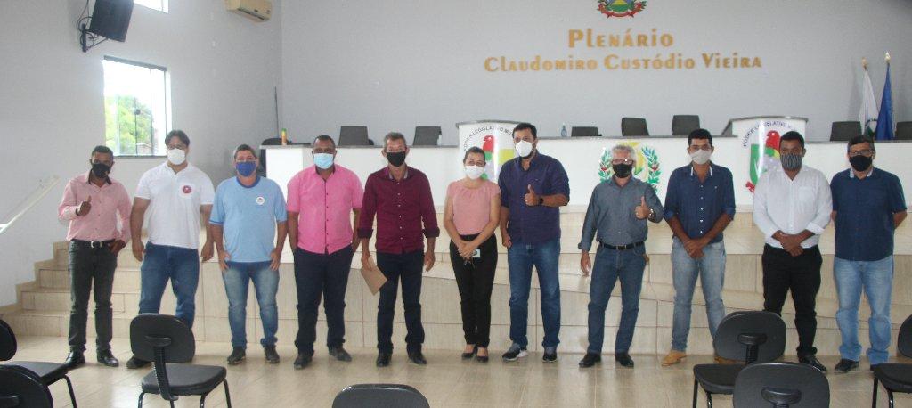 Deputado Estadual Allan Kardec visita Colniza e se reúne com prefeito, vereadores e lideranças políticas