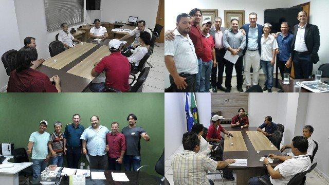 Caravana do PDT em Colniza vai em Cuiabá em busca de recursos