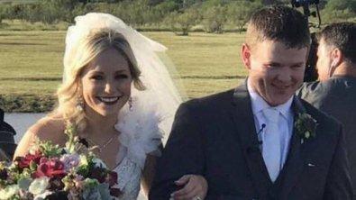 Casal morre 1 hora e meia depois de casar