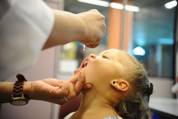 Começou hoje Campanha Nacional de Vacinação contra a Pólio e o Sarampo