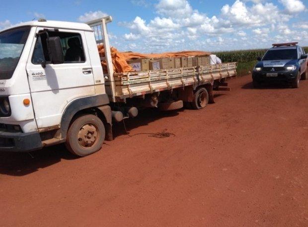 Bandidos invadem fazenda rendem cerca de 40 pessoas e roubam agrotóxicos em MT