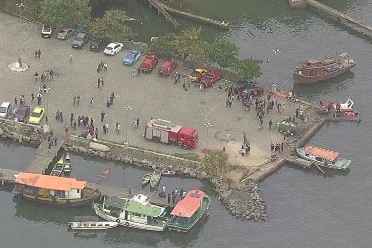 Sobe para quatro o número de corpos resgatados em Sepetiba no Rio