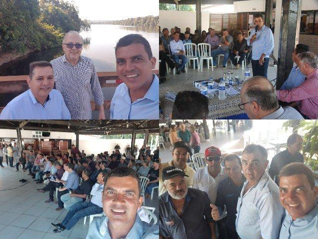 Vereadores de Colniza participam de reunião com vice-governador em Aripuanã-MT