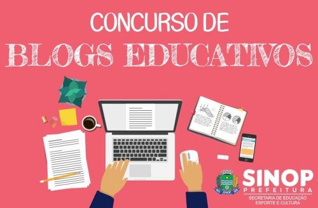 Concurso de blogs premiará professores, escolas e estudantes da rede municipal de Sinop