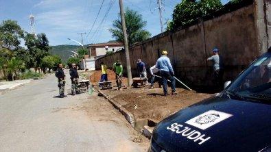 Presos reformam quatro escolas em Barra do Garças
