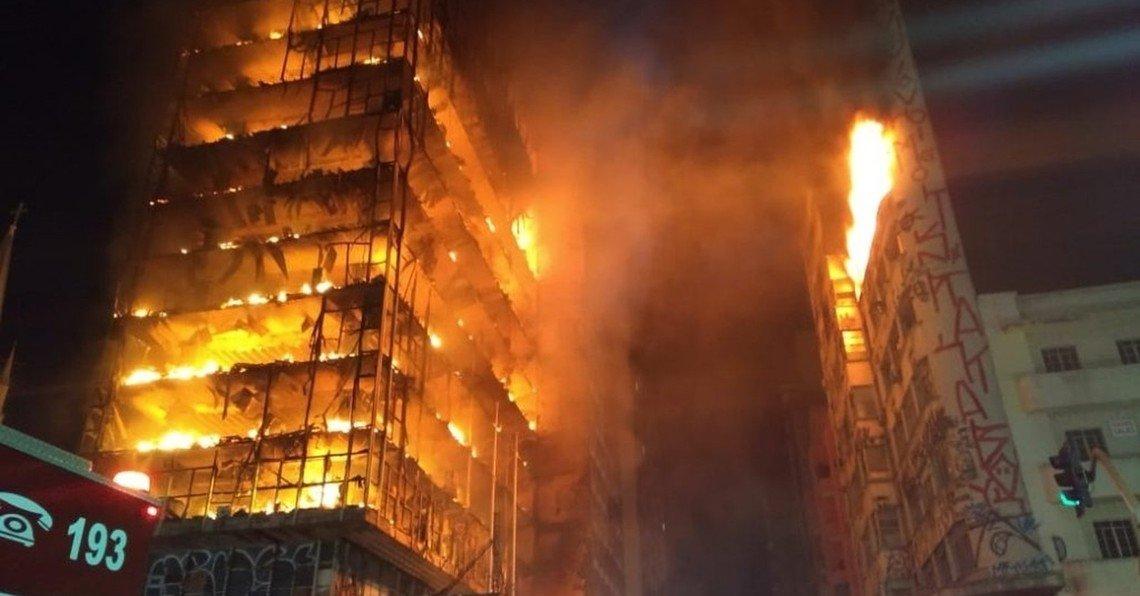 Acidente doméstico é principal hipótese de incêndio em prédio em SP
