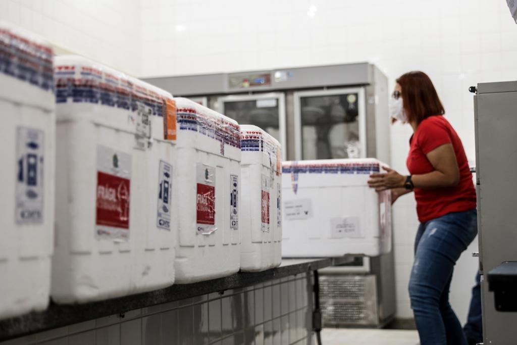 Mato Grosso recebe 54,9 mil doses de vacina nesta sexta-feira