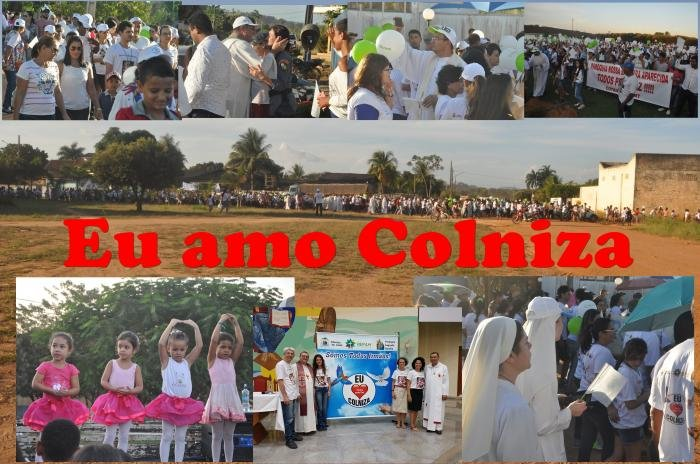 """Missão pela paz em Colniza """"SOMOS TODOS IRMÃOS"""""""