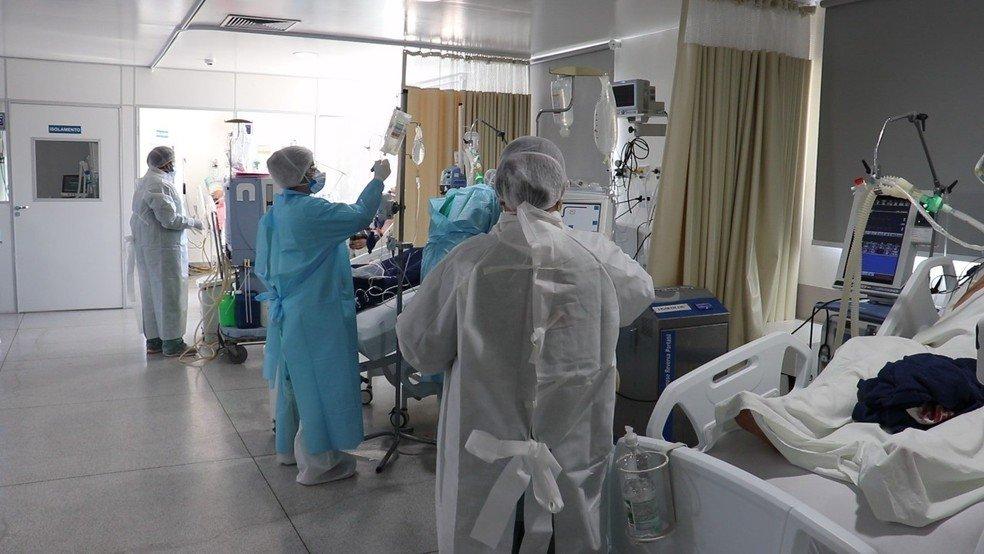 Quatro hospitais de MT estão com 100% das UTIs para Covid ocupadas