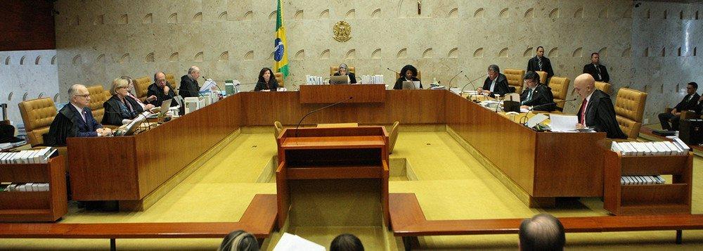 STF tem 4 votos a 3 contra imunidade a deputados estaduais