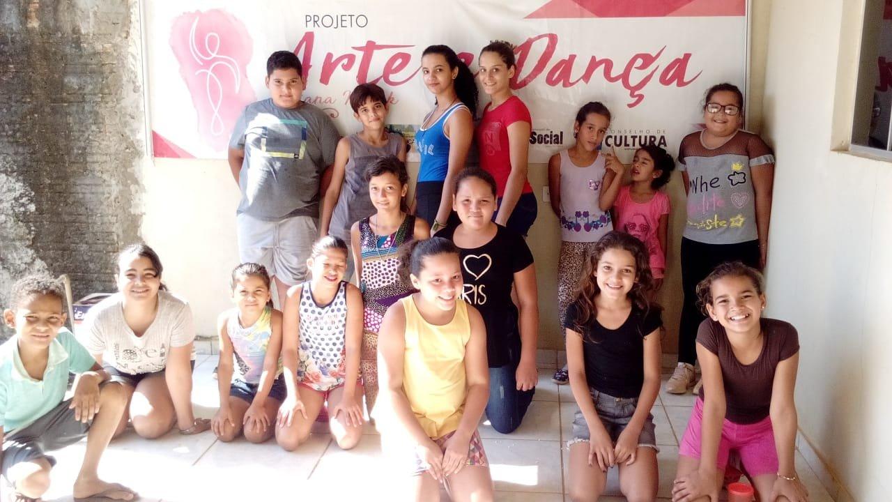 Projeto arte e dança é implantado em Colniza-MT