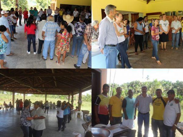 Em Colniza Secretaria de Assistência Social realiza Almoço de Confraternização do Grupo Alegria de Viver