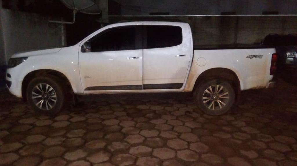 Suspeito de roubo é preso em flagrante quando dirigia carro da vítima em fuga em Colniza